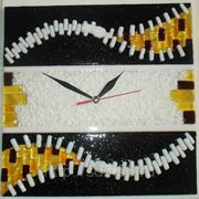 Часы с фьюзингом 1. фото