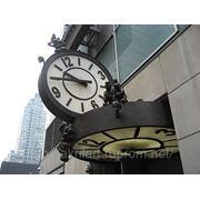 Фасадные и уличные часы фото