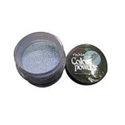 RuNail, Цветная акриловая пудра (с блёстками, аквамариновая, Sparkling Aquamarine), 7,5 гр фото