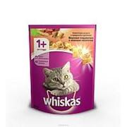 Whiskas 800г Сухой корм для взрослых кошек от 1 года Говядина и кролик фото