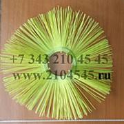 Диск щеточный 120х550 Билайн пластиковый сердечник, полипропиленовый ворс фото