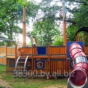 Парковые детские площадки фото