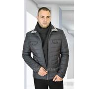 Куртка демисезонная средней длины Casual Модель 1624 фото