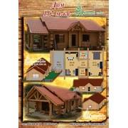 Возведем рубленый дом из дикого сруба канадской рубки 112 м.кв. фото