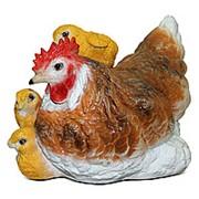 Фигура Курица с цыплятами фото
