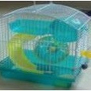 Клетка для хомяков, размер 23*17*24,5см фото