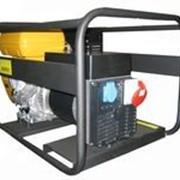Бензиновая электростанция RNT 7000 двиг.Robin EX400D, 7/7,5 кВА, 230/400В, бак 7 л, 78 кг, руч. пуск фото