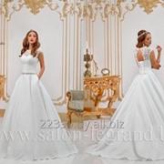 Атласное платье с карманами Rosita фото