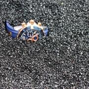 Песок кристаллический черный фр 1-3 фото