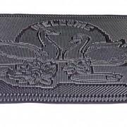 """Коврик резиновый """"Лебеди"""" 450*750 мм Mastertool 92-0729 фото"""