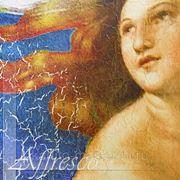 Фактуры фресок Craquelure фото