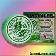 Органическая твердая тайская зубная паста Punchalee фото