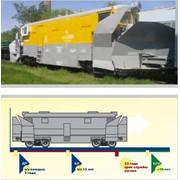 Ремонт железнодорожных снегоуборочных машин: снегоочистителя двухпутного плужного(СДП) фото