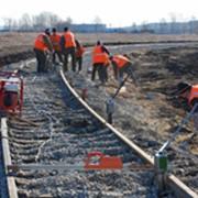 Услуги по строительству и ремонту железнодорожных путей, переездов, подъездных путей, тупиков. фото