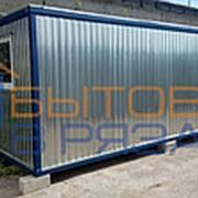 Блок-контейнер БК-02 ДВП, тамбур, 6.0х2.4х2.4м фото