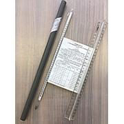 Термометр ртутный ТЛ-2 №1 лабораторный, наполнитель ртуть, ц.д. 1К, поверка 3 года (-30...+70) фото