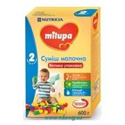 Смесь молочная Milupa 2, 600г (от 6 до 12 мес) фото