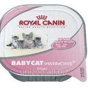 Консервы для котят Royal Canin Babycat Instinctive 0,195 кг фото