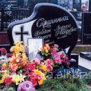 Памятник гранитный двойной №226 фото