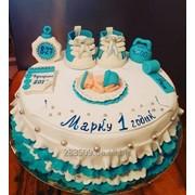 Праздничный торт на заказ фото