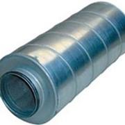 Шумоглушитель трубчатый прямоугольного сечения ГТП 1-1 фото