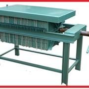 Фільтр-пресс рамковий для рослинної олії. Лінія фільтрації рослинних олій. фото