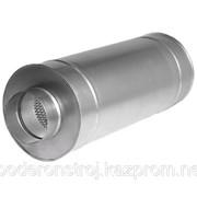 Шумоглушитель круглый трубчатый ГТК 500-900 фото