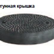 Крышки для герметичных колодцев Чугунные фото
