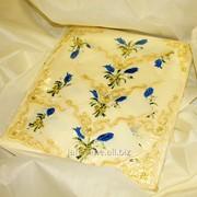 Скатерть с вышивкой 1705 фото