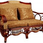 Мебель плетеная из тростника и прутьев фото