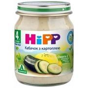 Пюре Hipp 125г Цукини с картошкой, с 4мес фото