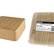 Коробка распаячная КР 100х100х44 ОП сосна IP40, инд. штрихкод TDM фото