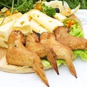 Крылья цыплят варено-копченые фото