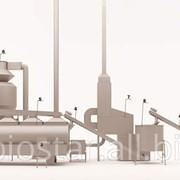 Линия с сушилкой, 1200 -1500 кг. фото