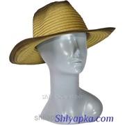 Шляпа летняя в ковбойском стиле 38/60-1 фото