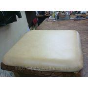 Пошив  кожаных подушек для  мебели фото
