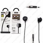 Внутриканальные наушники JIAYU Stereo Bass JY-355 Black (Черный) фото