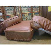 Пошив, ремонт кожаной мебели и мебельных чехлов в СПб фото
