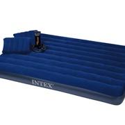 Надувной матрас с подушками и насосом Intex 68765 фото