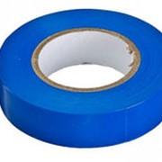 Изолента ПВХ синяя фото