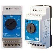 Цифровой термостат ETV от 0...+40град фото