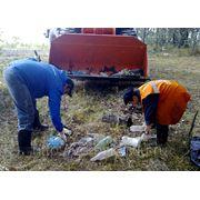 Уборка территорий от мусора Тюмень фото