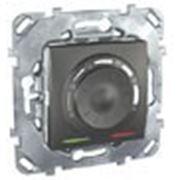 Термостат электронный ,8 А (Графит) со встроенным термодатчиком фото