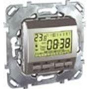Термостат недельный программируемый ( Алюминий) фото