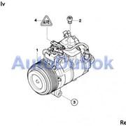 BMW 1 Series Компрессор кондиционера 2008 фото