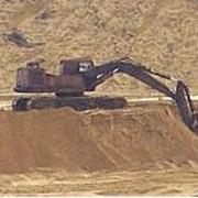 Песок формовочный и строительный Положского месторождения. фото