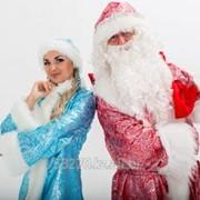 Дед Мороз и Снегурочка на Новый год! фото