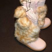 Детские зимние сапоги на девочек H&M фото