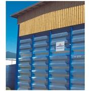 Модульные стенки с горизонтальным расположением профлиста фото