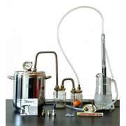 Самогонный аппарат, дистиллятор 12 литров 2 сухопарника, термометр, нержавеющая сталь